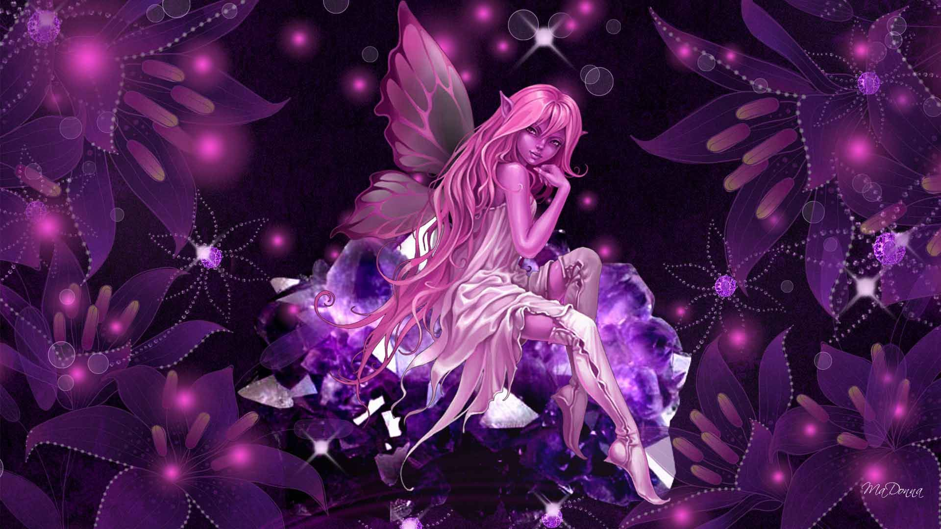 Pink Fairy Fairy Wallpaper Fairy Pictures Beautiful Fairies