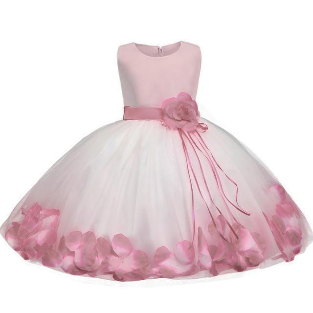 f33ca4d7bd5 Floral Baby Girl Baptism Dress Wedding Dress 6-24 Months ...