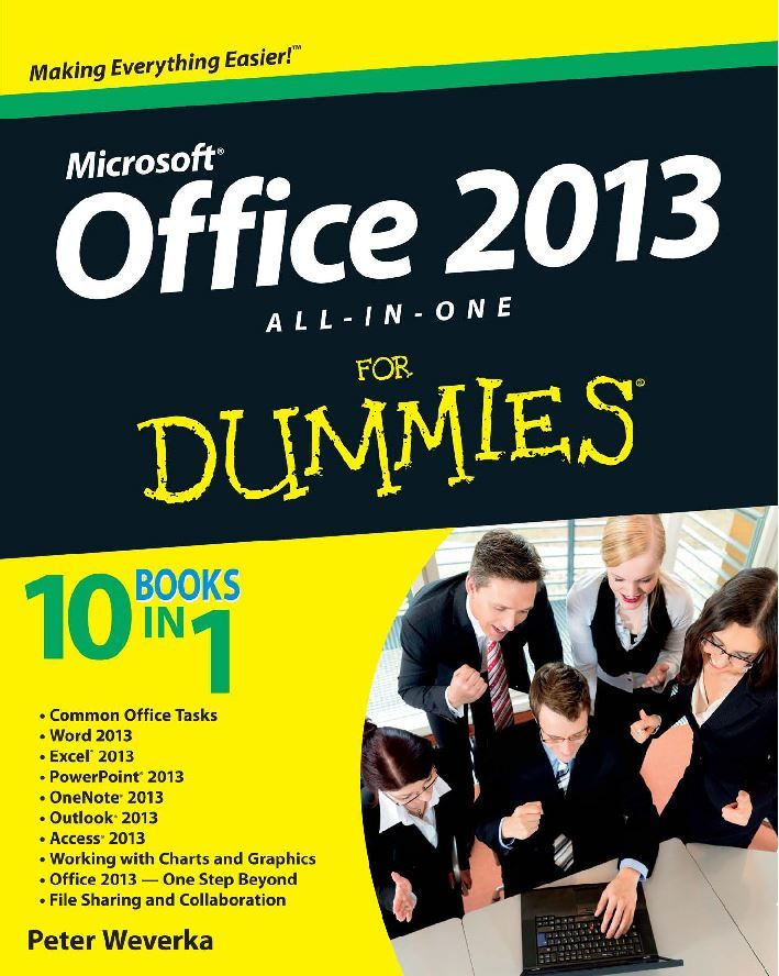 Office 2013 All-In-One For Dummies Computer - Microsoft Pinterest