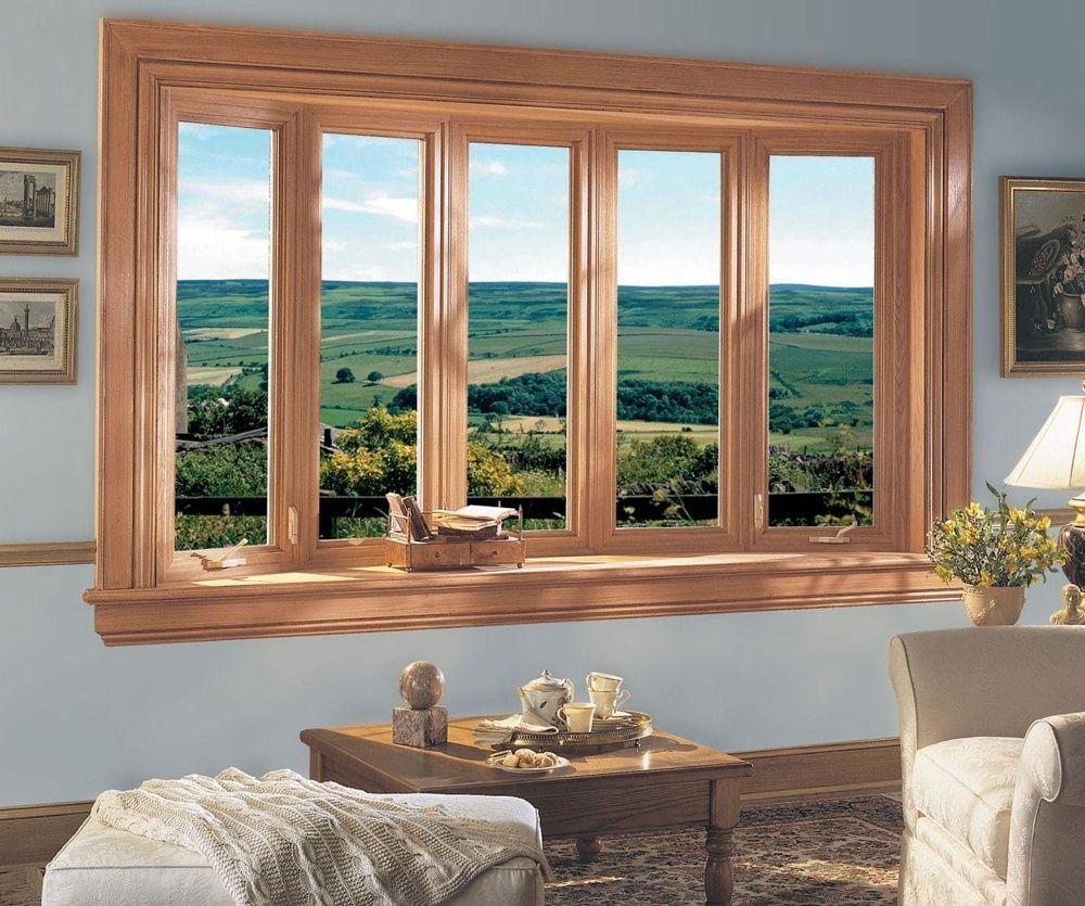 Brown Wood Garden Window The Best Furniture Windows
