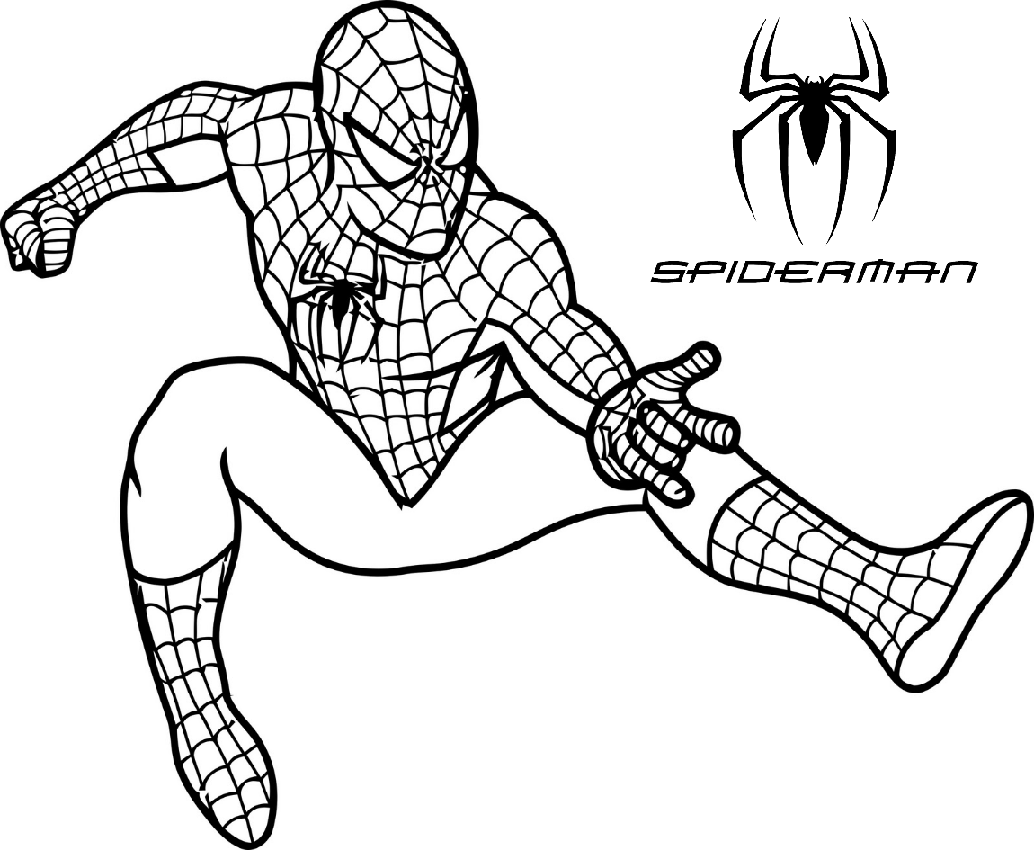 Spiderman Far From Home Coloring Pages On Bubakids Com