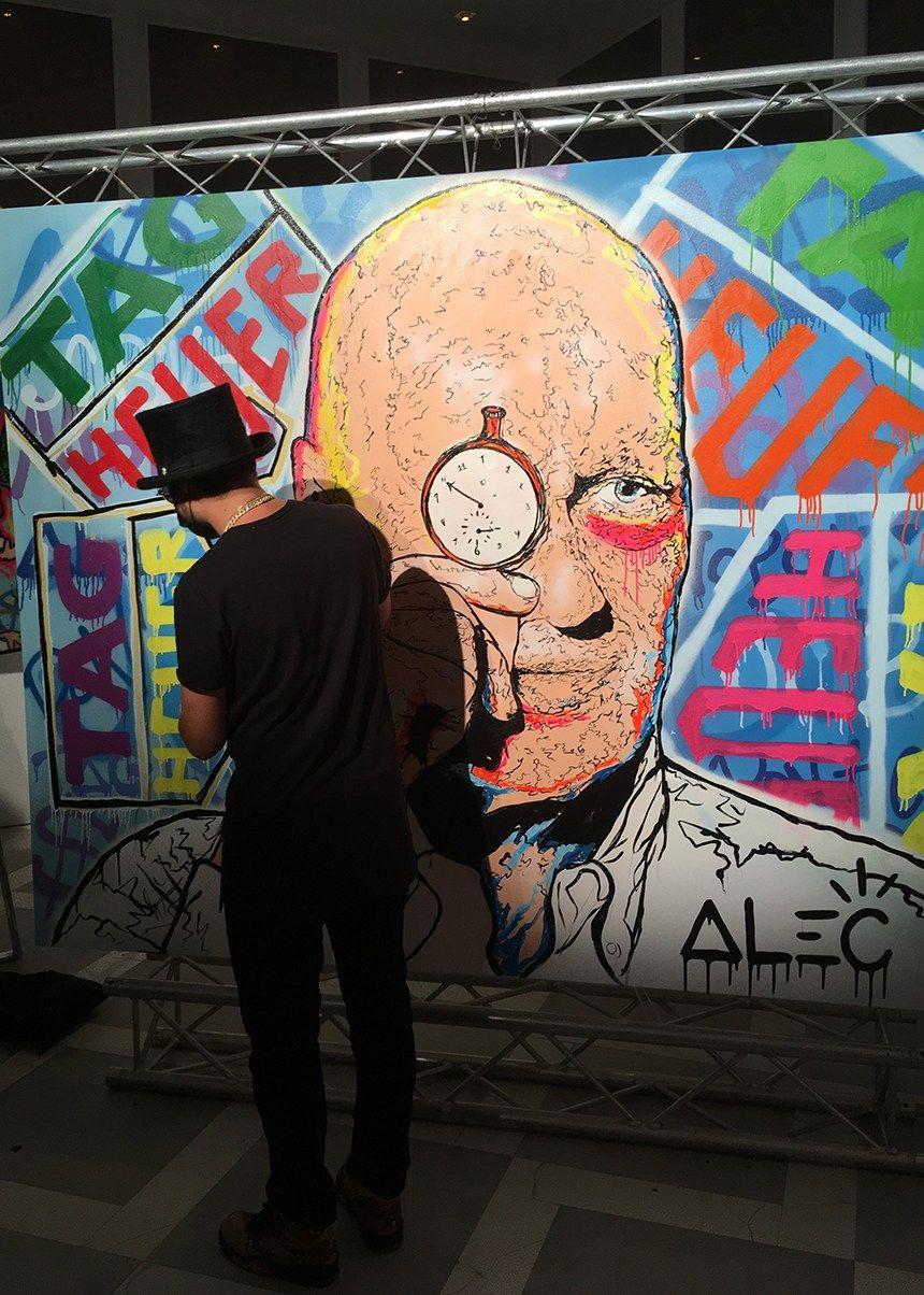 Tag Heuer Appoints Alec Monopoly As Art Provocateur J C Biver