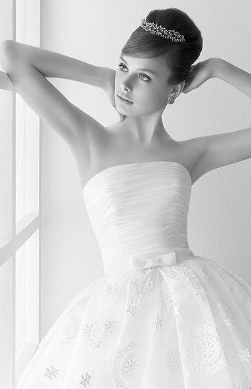 Peinados clásicos para la novia