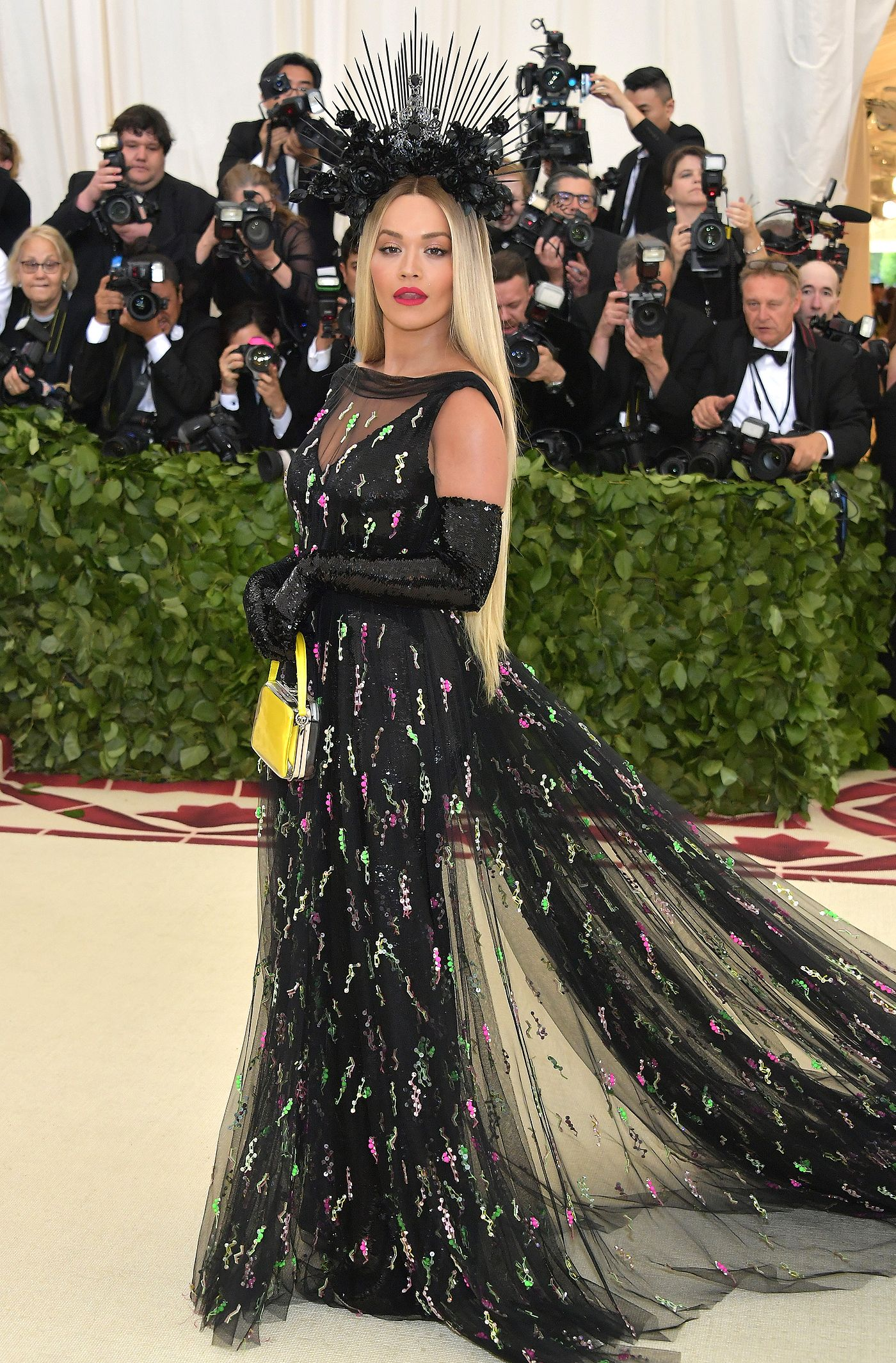 6665c671649 Rita Ora Gives Off Beyoncé Vibes at the 2018 Met Gala as She Confirms Again  She s Not  Becky