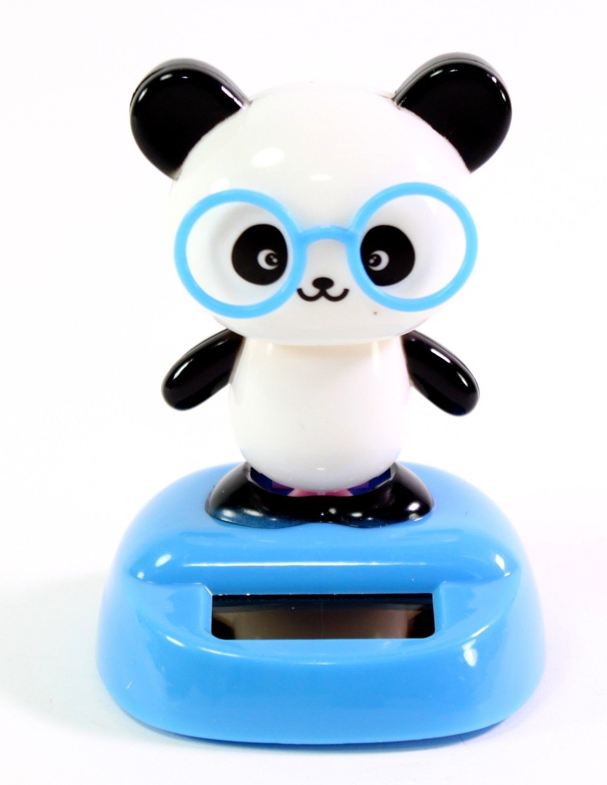 Birthday toys images  Dancing Panda with Glasses Beach Solar Toy Home Decor Birthday Gift