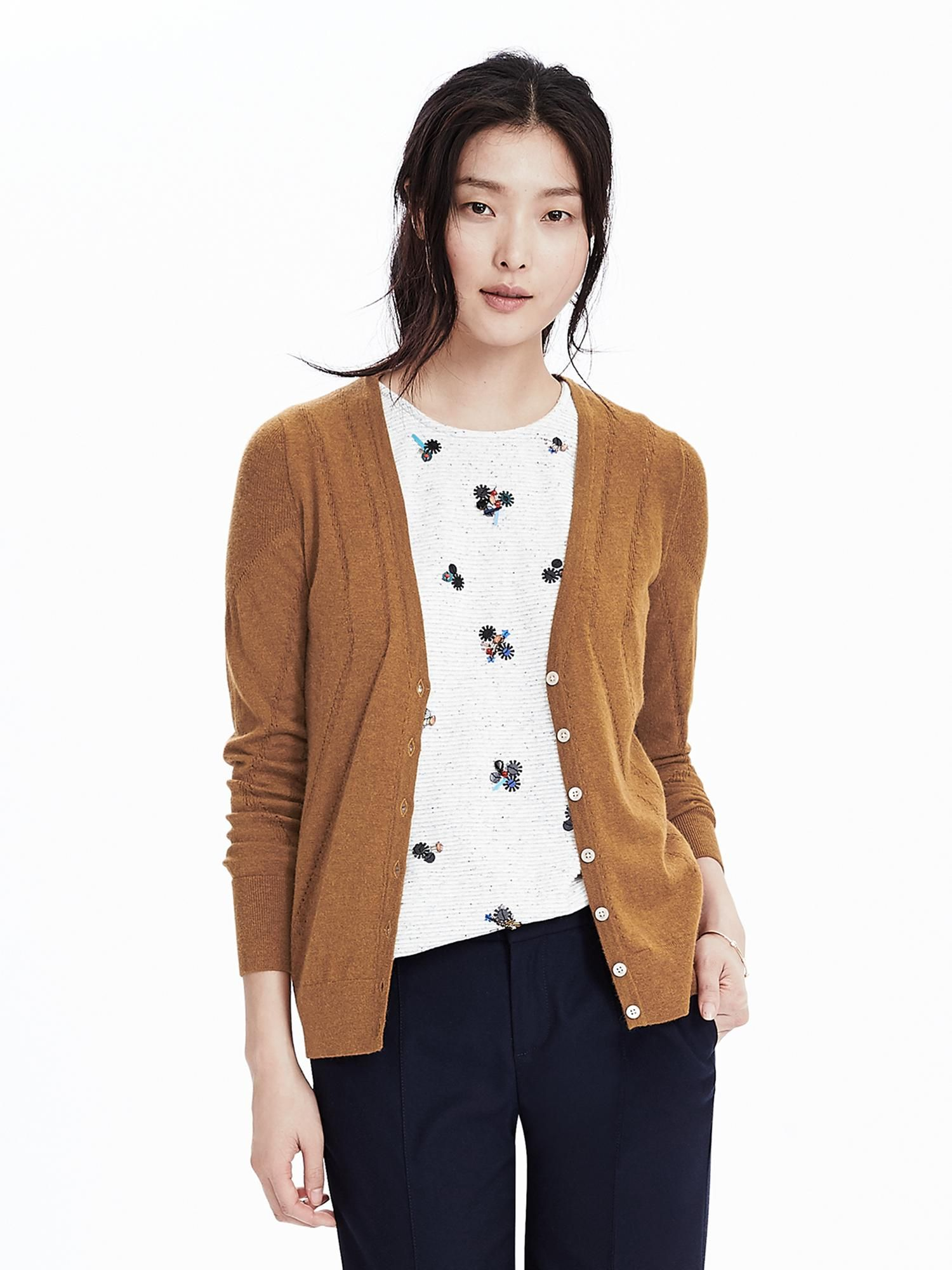 this cardigan color is everything