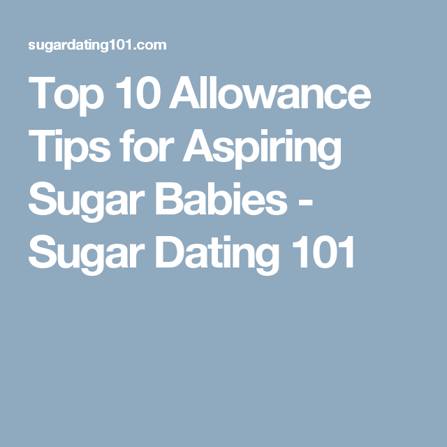 Top 10 Allowance Tips For Aspiring Sugar Babies Sugar Dating 101 Macbook Sugar Baby
