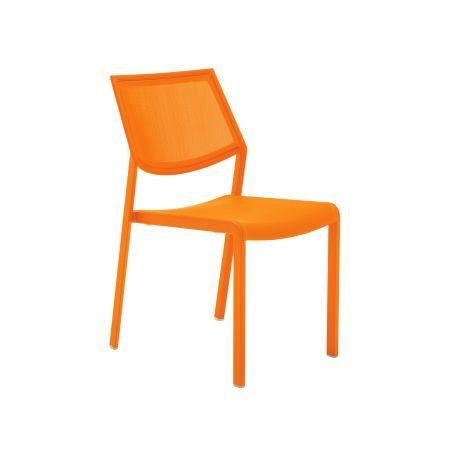 Skat Textilene Dining Chair Domayne Online Store outdoor space