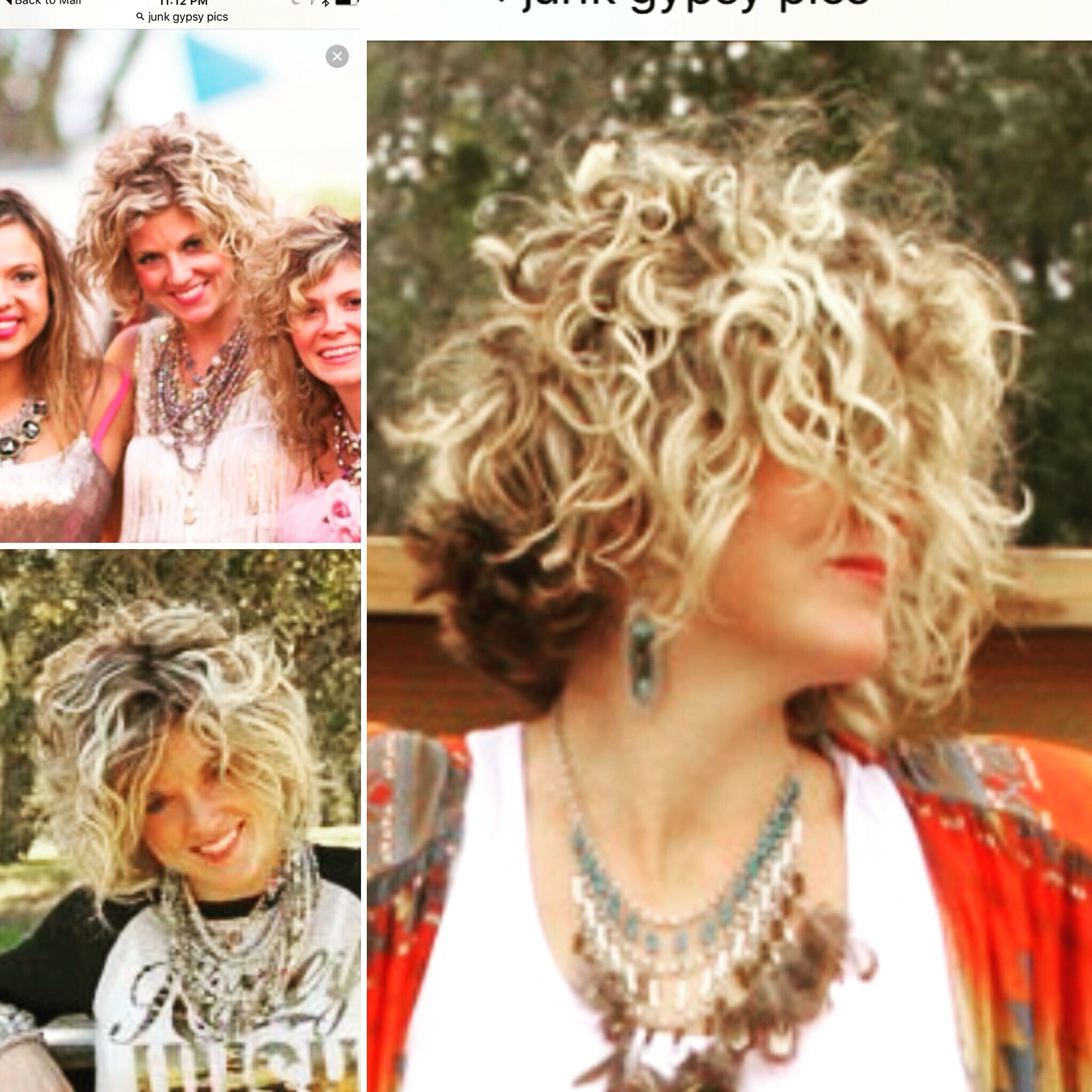 Love This Junk Gypsy Models Hair Had Mine Cut Similar To It