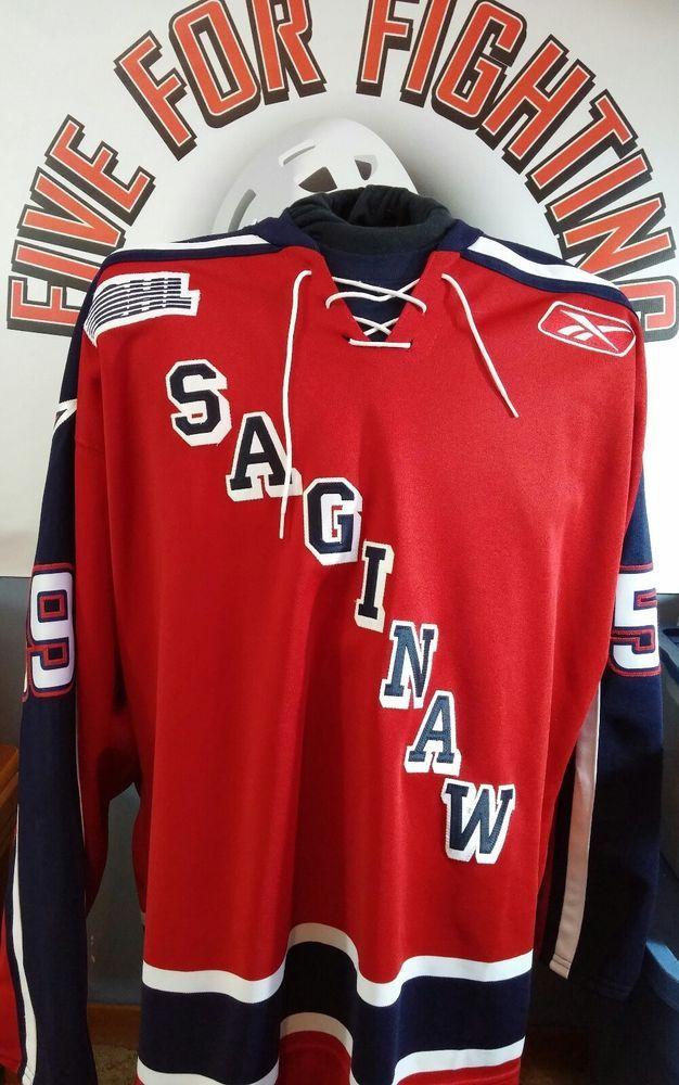 reputable site 61de2 a49c2 Saginaw Spirit Game Worn Jersey Camara Bruins Canadiens NHL ...