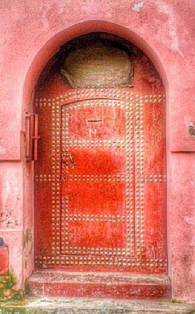 Tangier Morocco Unique Doors Cool Doors Coral Door