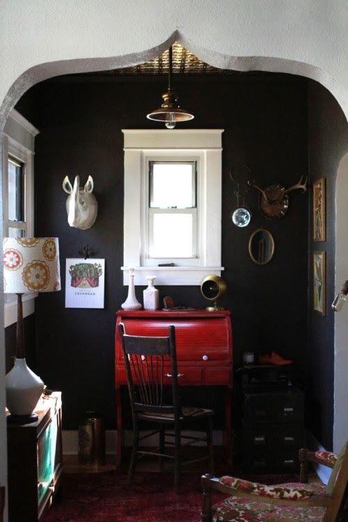 Cozy Rustic Office