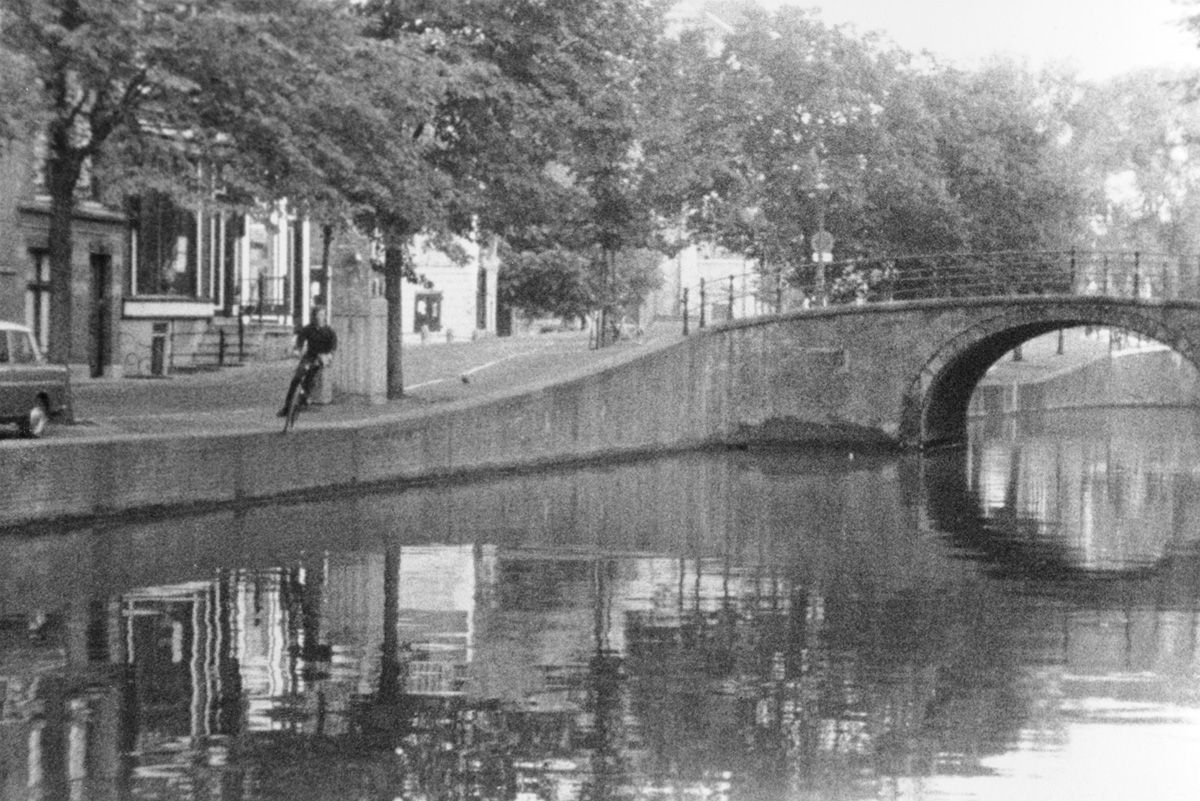 Bas Jan Ader (Dutch, 1942-1975), Fall 2, Amsterdam, 1970