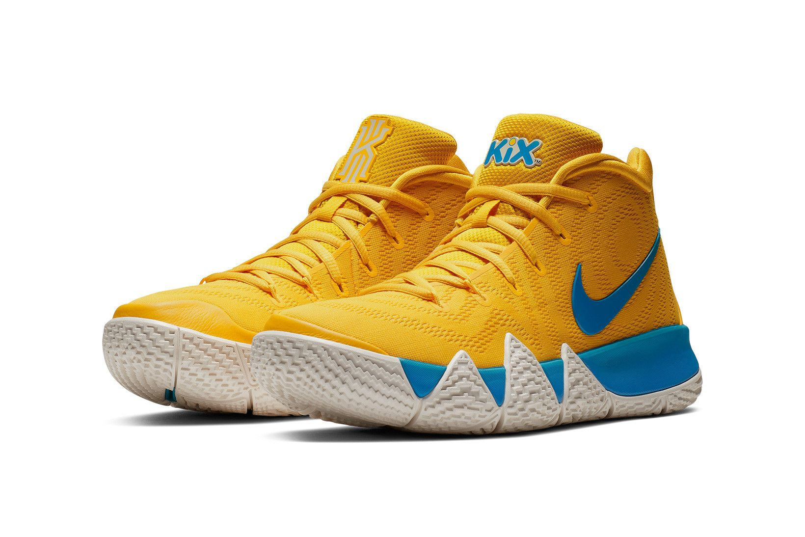 buy online fd128 59945 nike kyrie 4 cereal pack nike basketball kyrie irving 2018 august cinnamon  toast crunch kix lucky charms