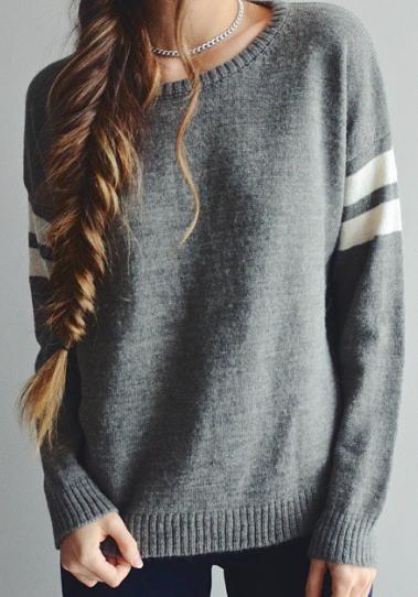 28851d0089dfb Tricot, Cheveux, Vetement Tumblr, Mode Vetement, Vêtements Cool, Vetement