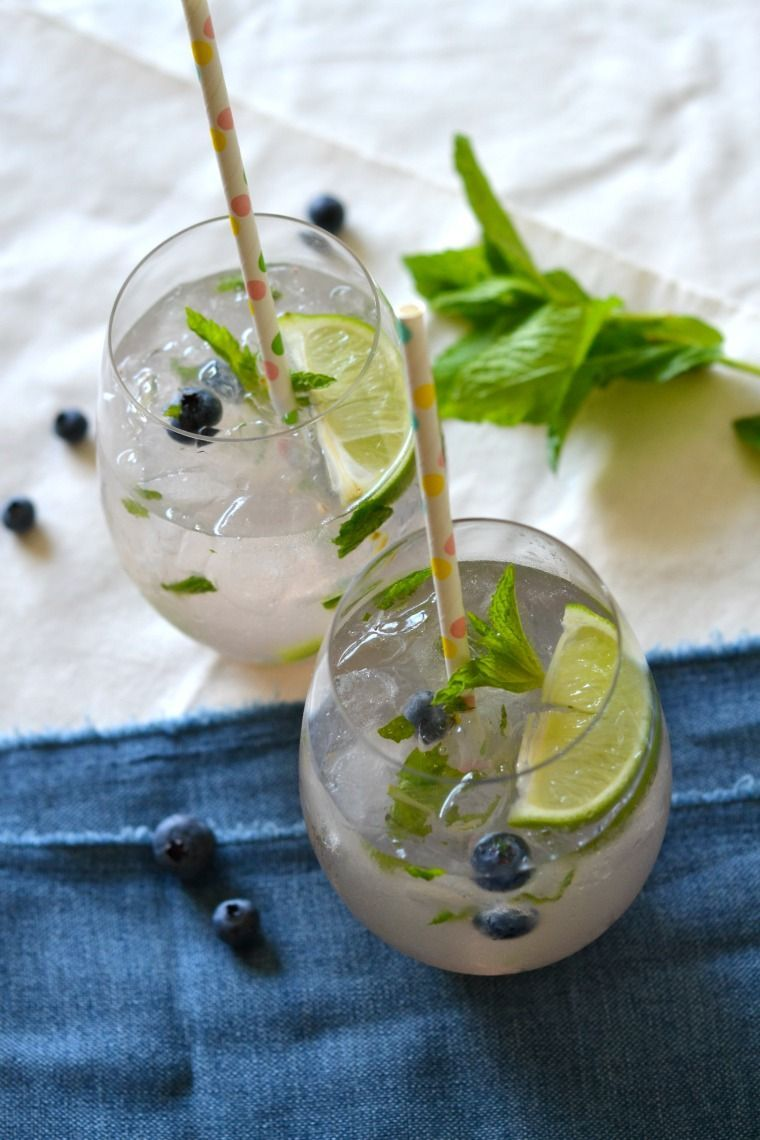 Let Us Wanderlust: Recipe    A Blueberry Mojito #blueberrymojito Let Us Wanderlust: Recipe    A Blueberry Mojito #blueberrymojito