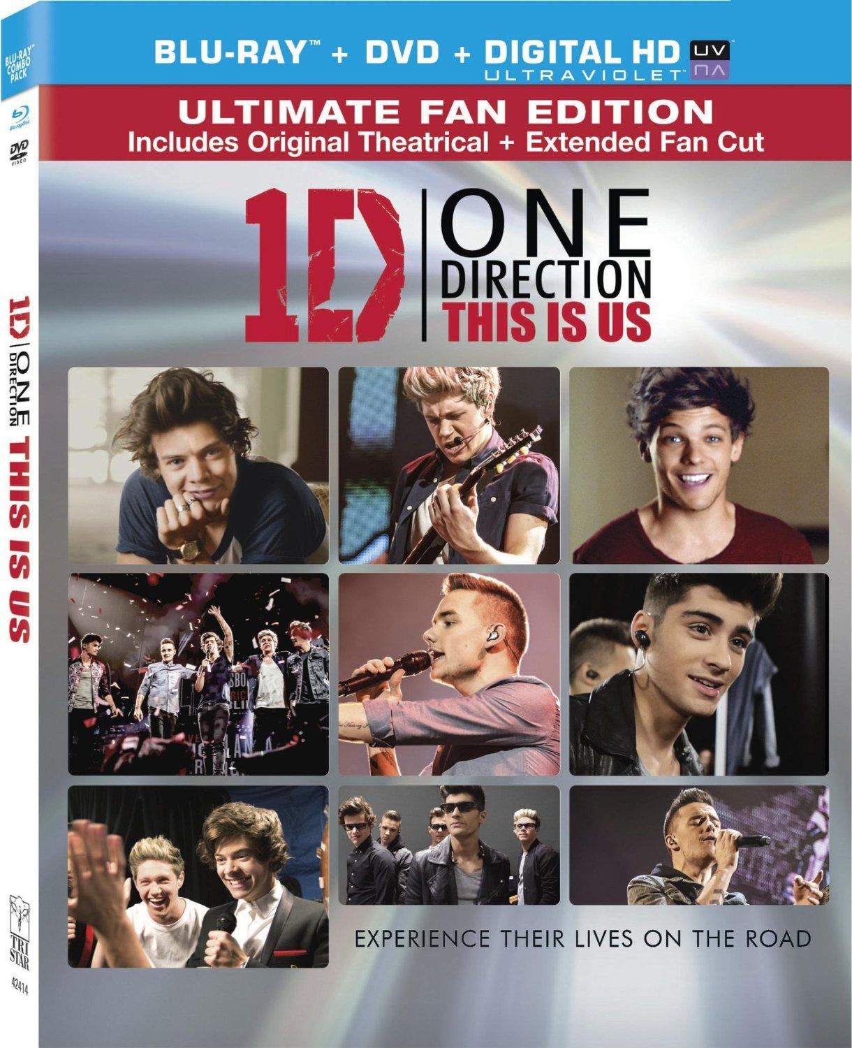 Amazon Com One Direction This Is Us Two Disc Combo Blu Ray Dvd Ultraviolet Digital Copy One Direction One Direction I Love One Direction Directions