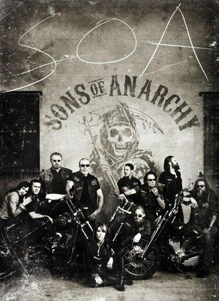 Sons of Anarchy - one helluva show , just love it !