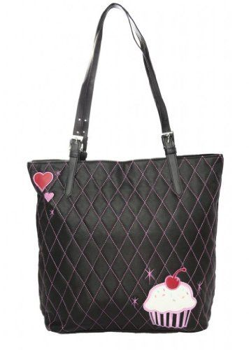 Fluff Women's Cupcake Tote  Travel Bag  Price : $32.90 http://www.pretty-attitude.com/Fluff-Womens-Cupcake-Tote-Travel/dp/B00F2TUNSS