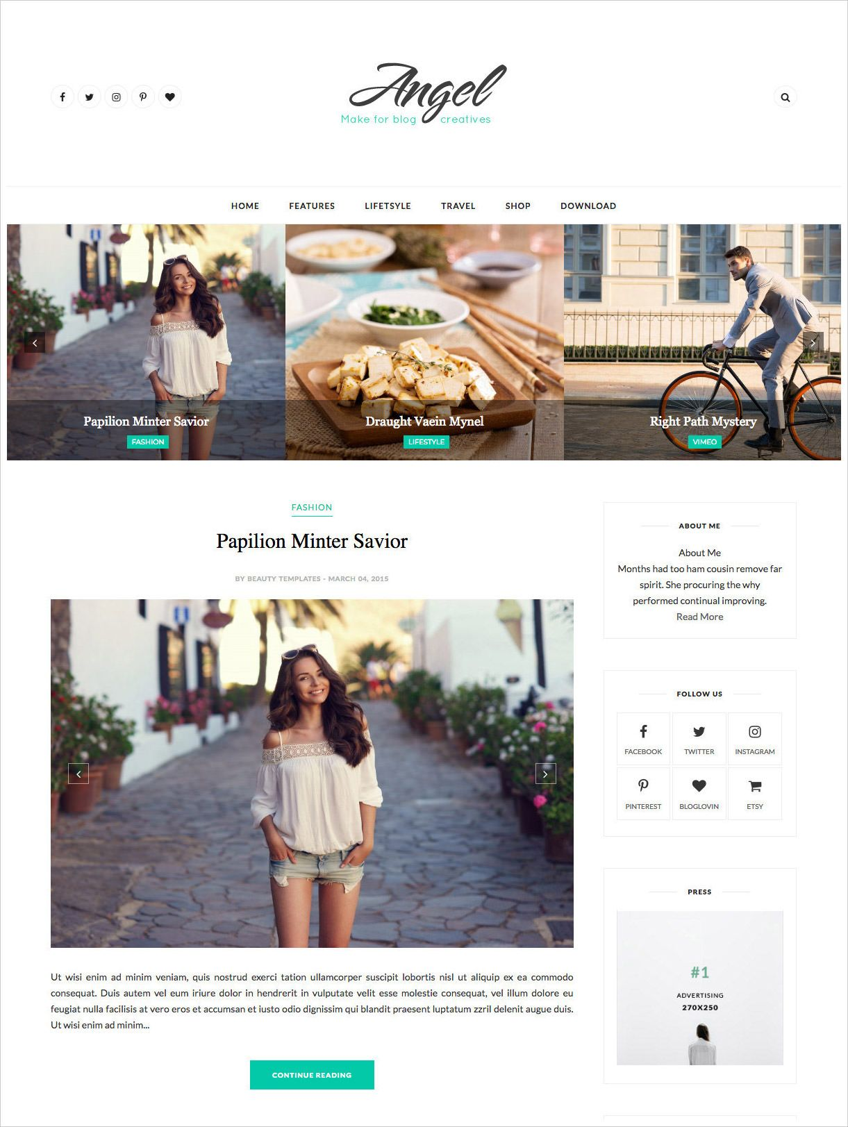 50 Most Beautiful Blogger Templates To Download Hongkiat Free Blogger Templates Free Blogspot Templates Blogspot Blogger