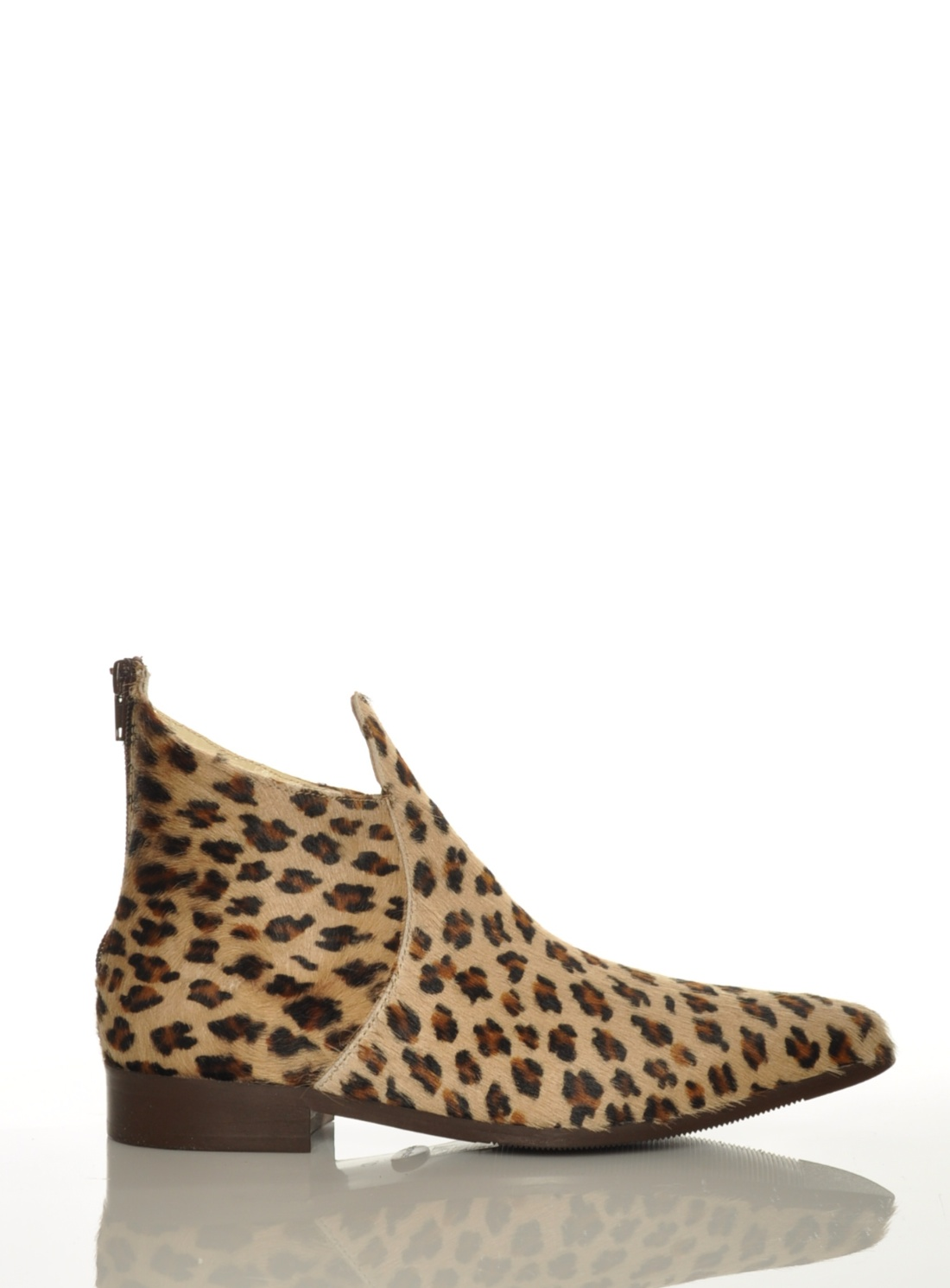#Albia #Leopard #Ponyskin #Chelsea Boot by Red By Wolves #Shoes