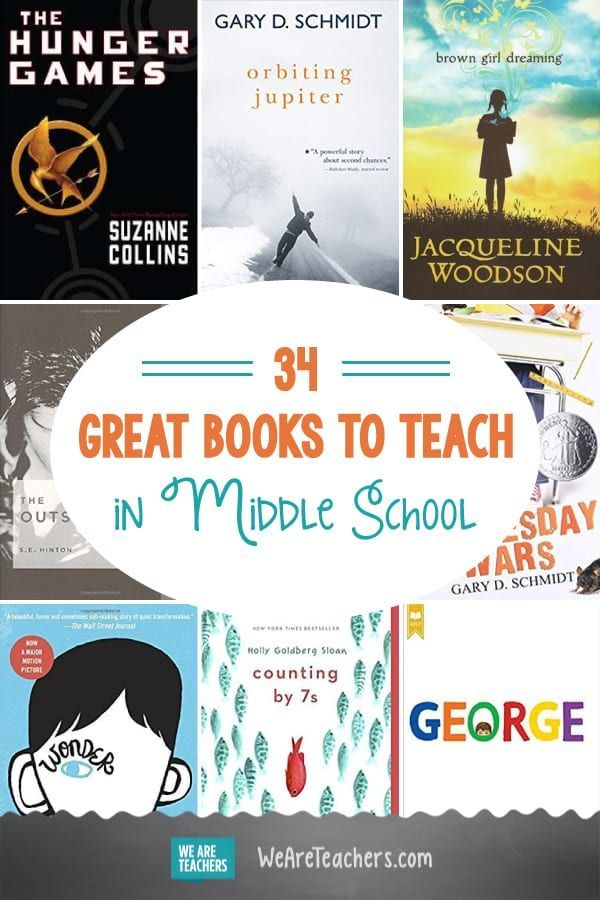 34 Great Books to Teach in Middle School