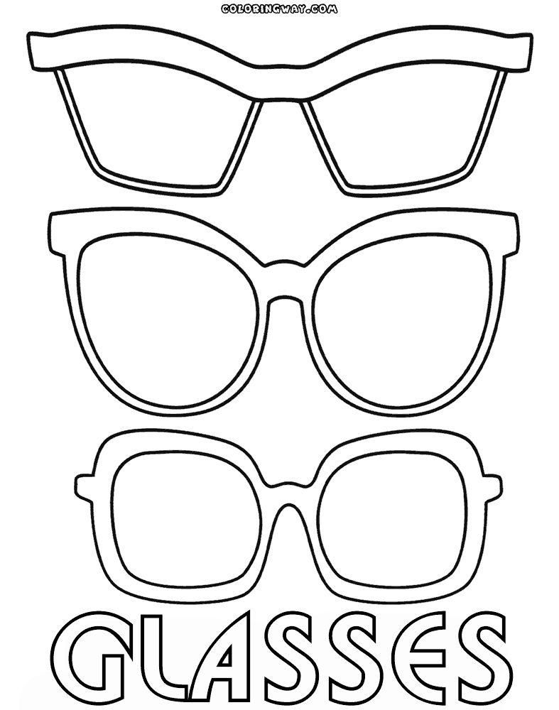 Awesome Coloring Page Glasses That You Must Know You Re In Good