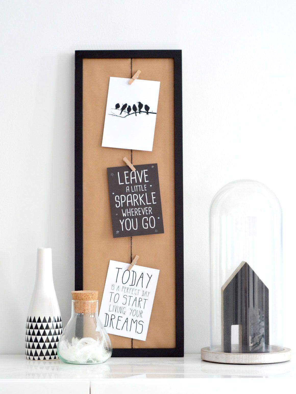 DIY: Fotolijst met knijpertjes - My Simply Special