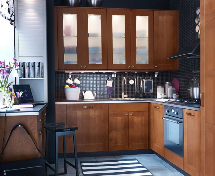 Simple Kitchen with Practical Furniture kitchen design Home - simple kitchens designs