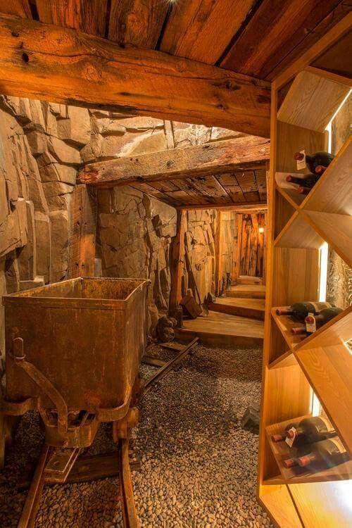 Dans Le Colorado Ancienne Mine En Cave A Vin Vins En 2019 Cave