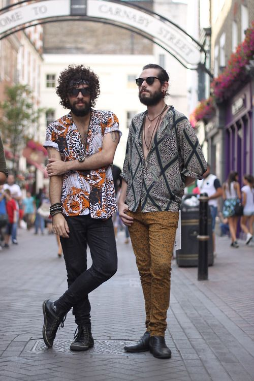 Hippie Style Boho Chic Homme