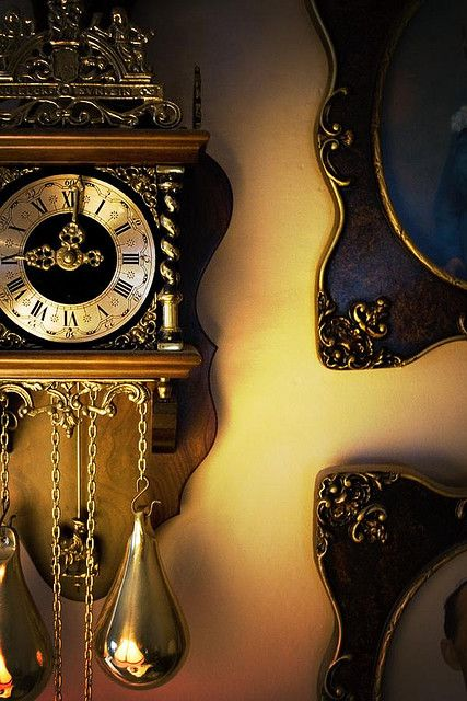 Vintage Clock, Steampunk Style Inspiration