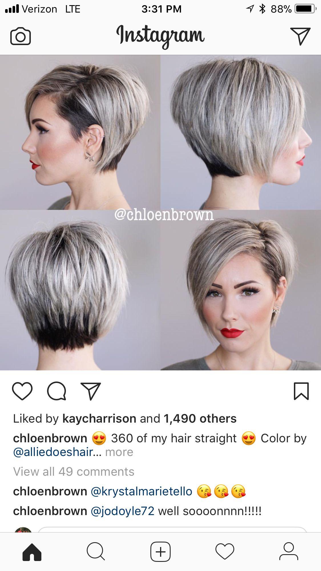 Pin Von Jaime Defendorf Foster Auf Hair Kurze Haare Stylen Haare Stylen Kurzhaarschnitte
