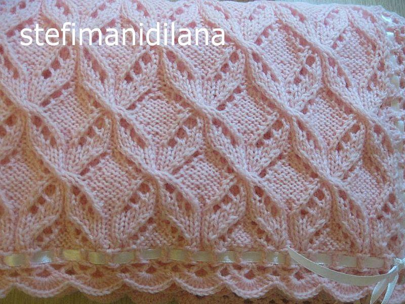 Très Image result for spiegazioni gratis copertine culla | Knitting  YW58