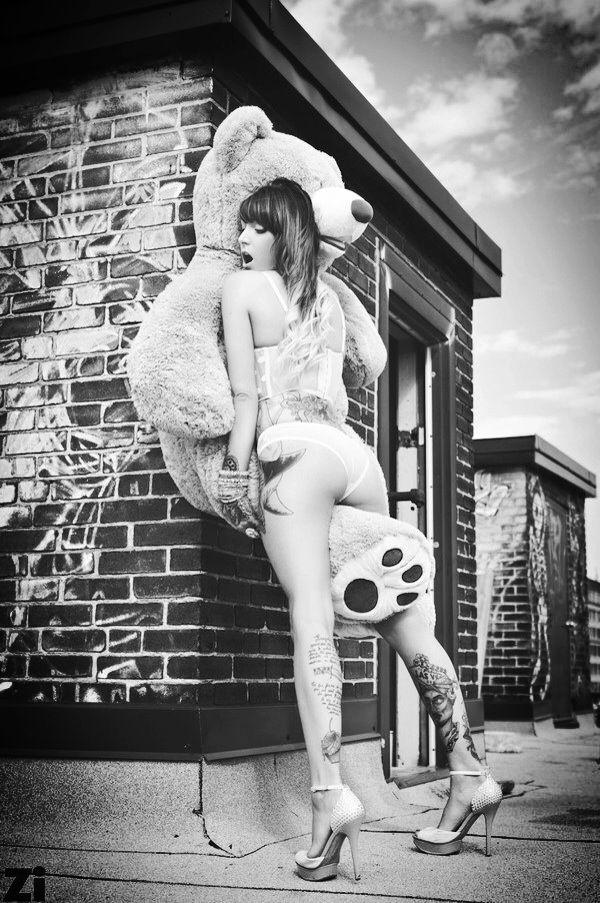 sexy girl humping teddy bears