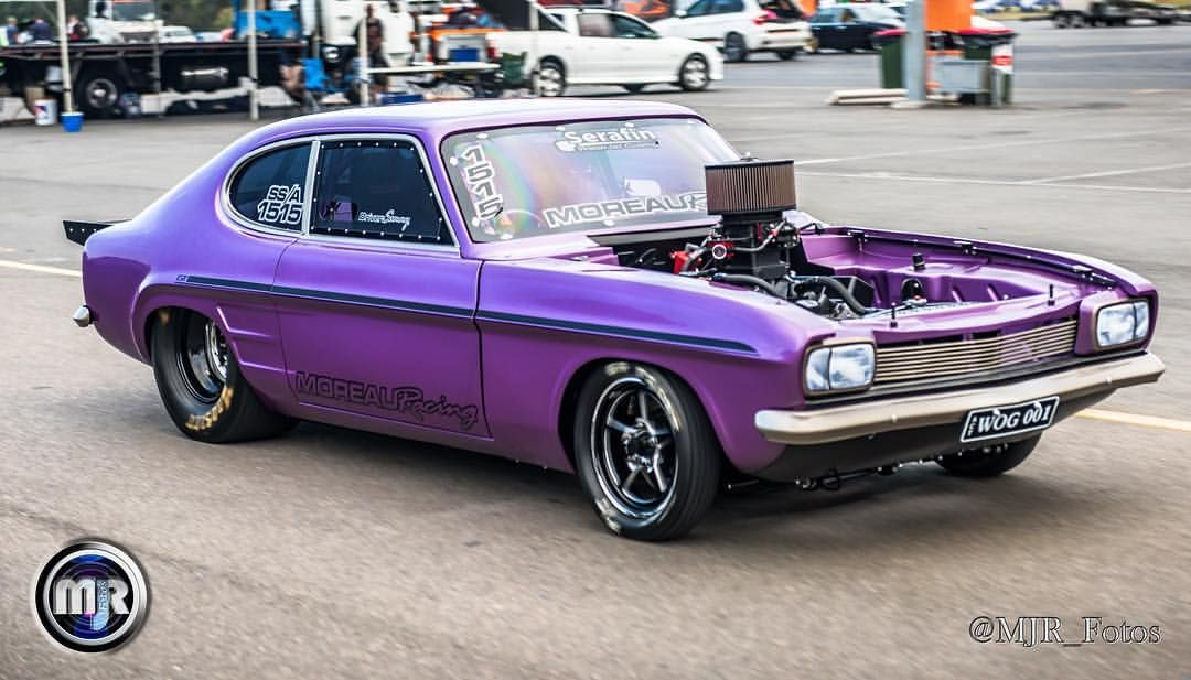 Wog001 Ford Capri Drag Car Dragracing Supernats