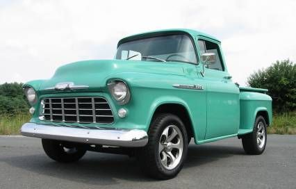 1956 Chevy 3100 Short Bed Big Back Window For Sale Classic