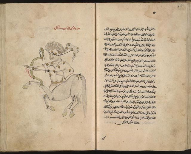 Book Al Sufi Jpg 640 518 Constellations Sufi Writing A Book