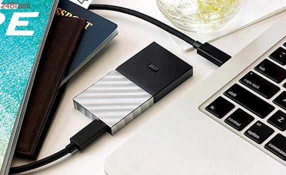 Western Digital lança seu primeiro SSD portátil, que usa USB Tipo-C