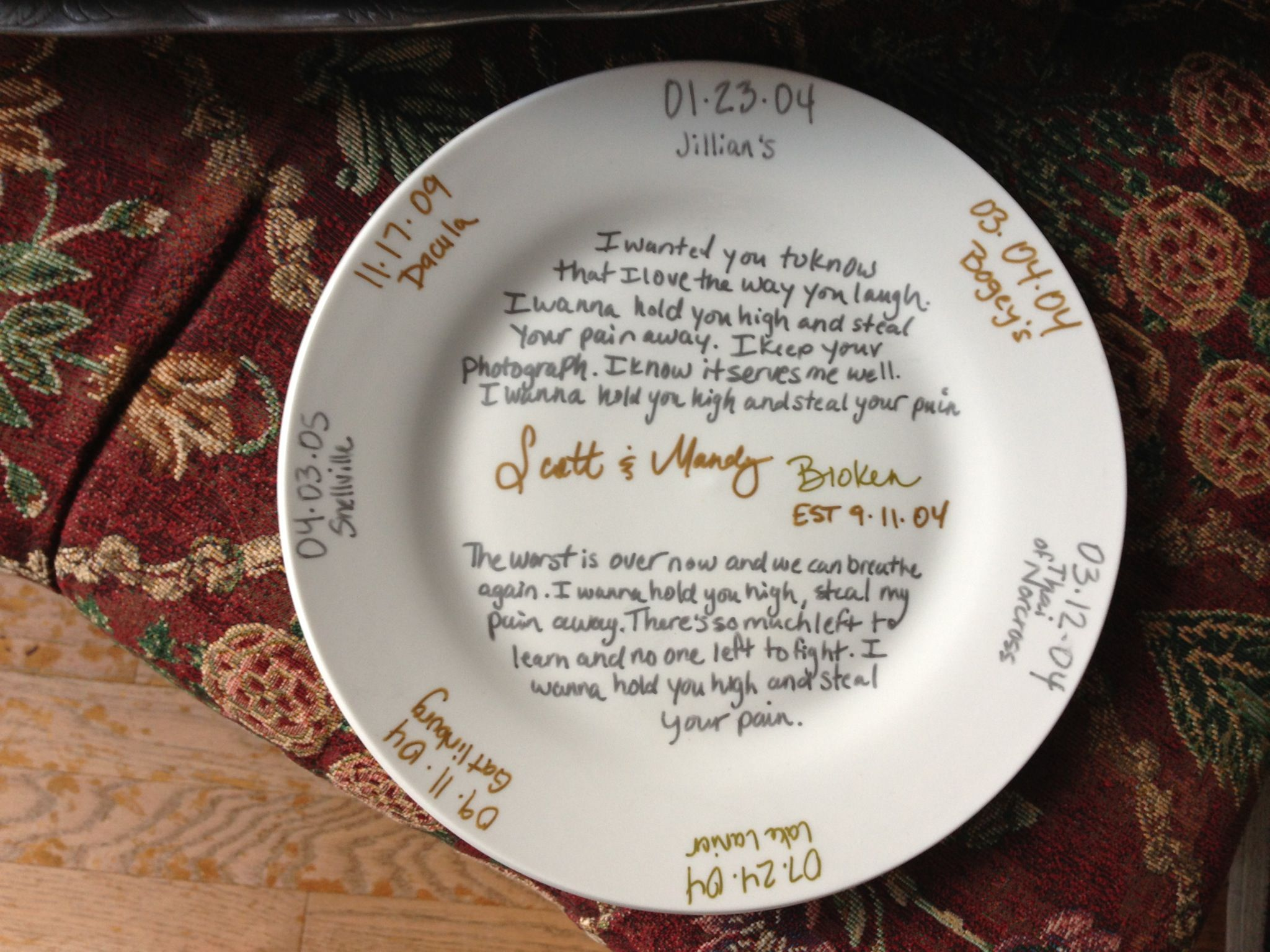 My 9th Anniversary Pottery For The Hubby He Loved It Marriage Anniversary Gifts Wedding Anniversary Gifts Best Anniversary Gifts