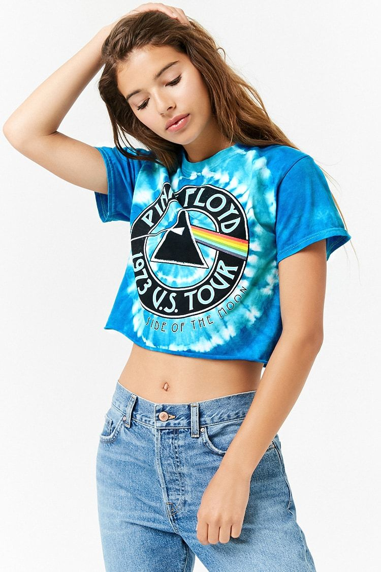 71ad7a3187d9ac Product Name Pink Floyd Cropped Band Tee