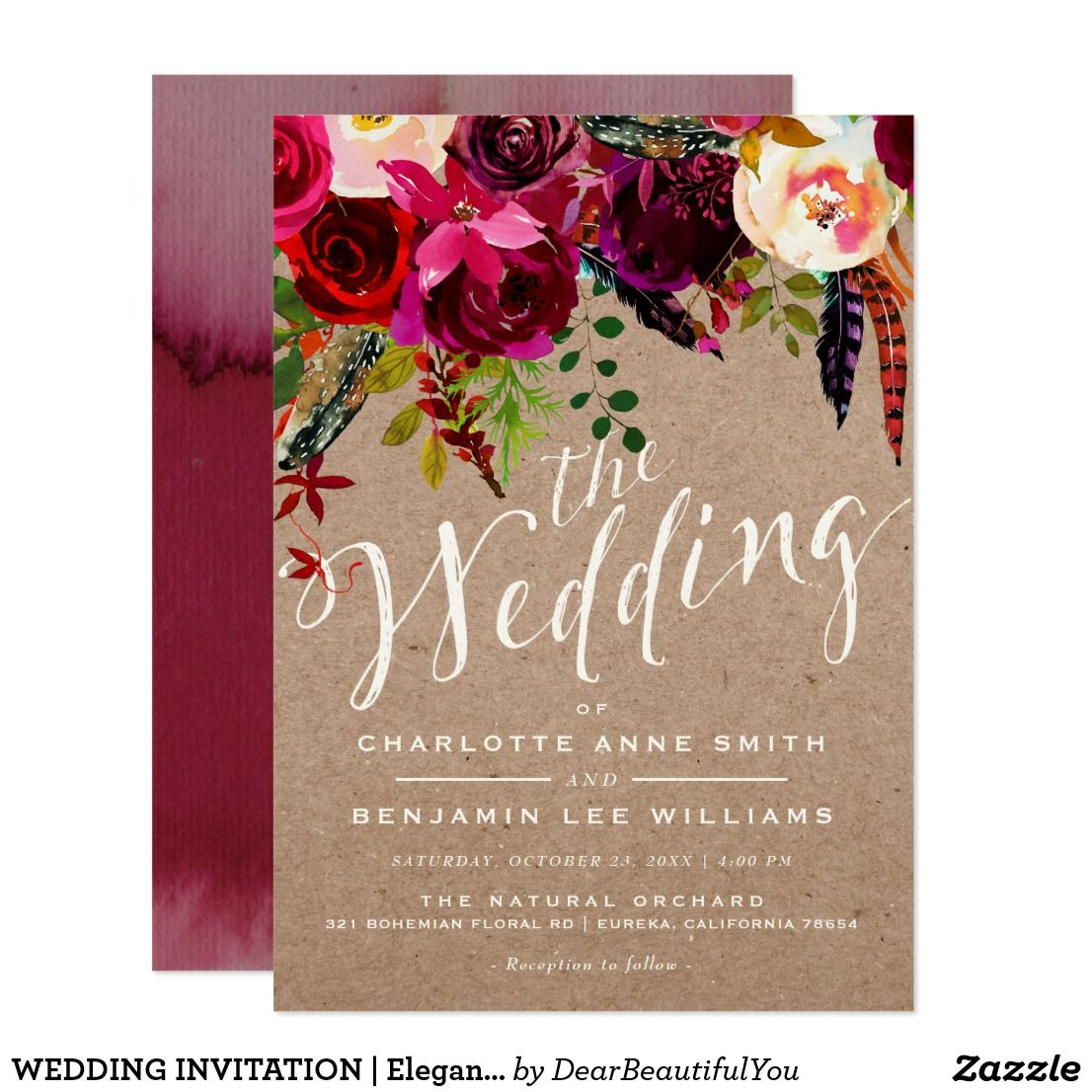 Fancy Rustic Wedding Invitations With Lace Picture Collection ...
