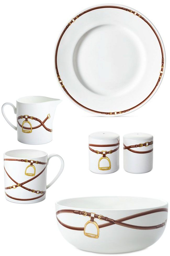3 Equestrian Dinnerware Collections Equestrian Decor