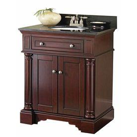 31 In Auburn Albain Single Sink Bathroom Vanity With Top For The