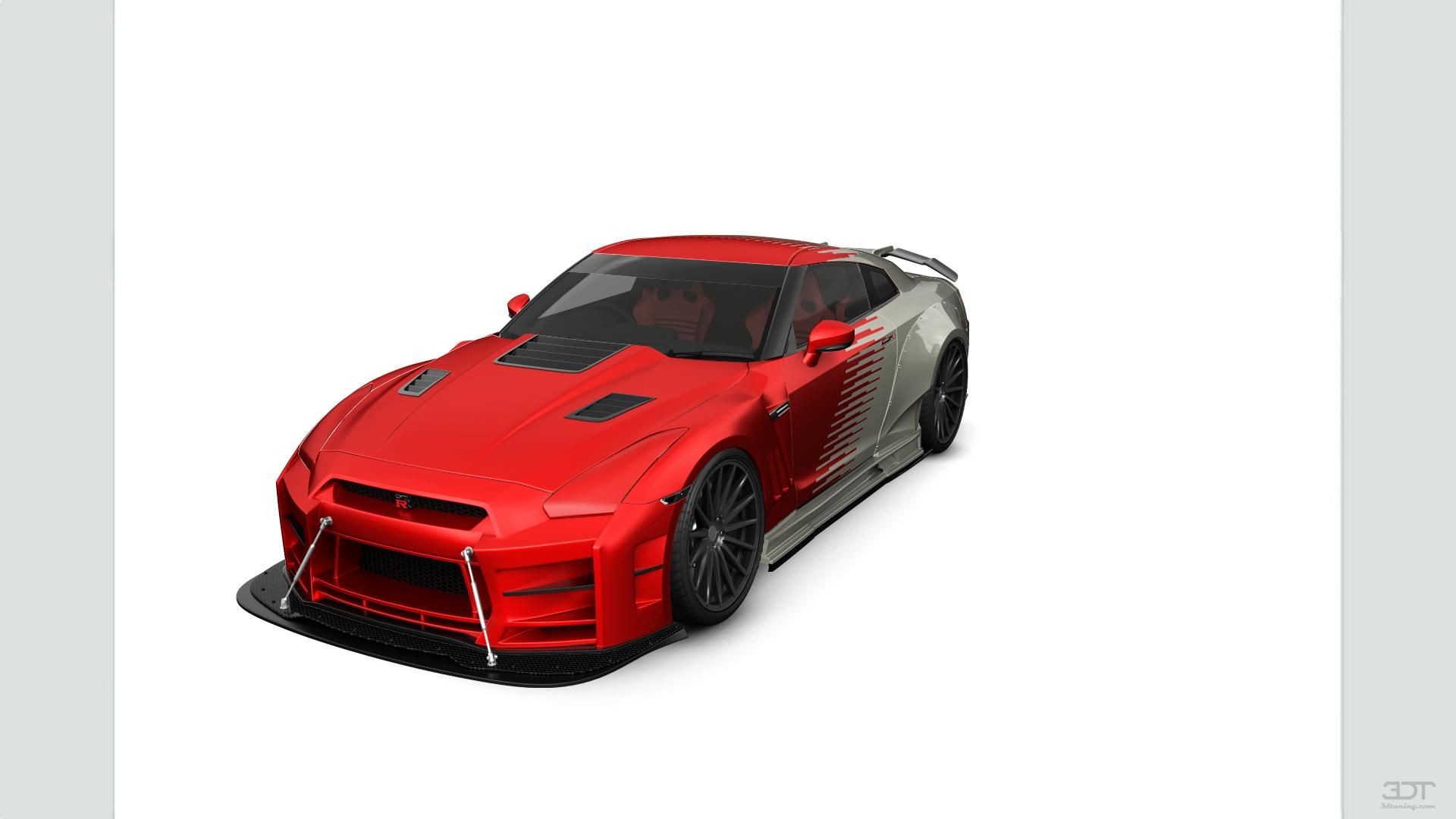Checkout my tuning Nissan GT R 2010 at 3DTuning 3dtuning tuning