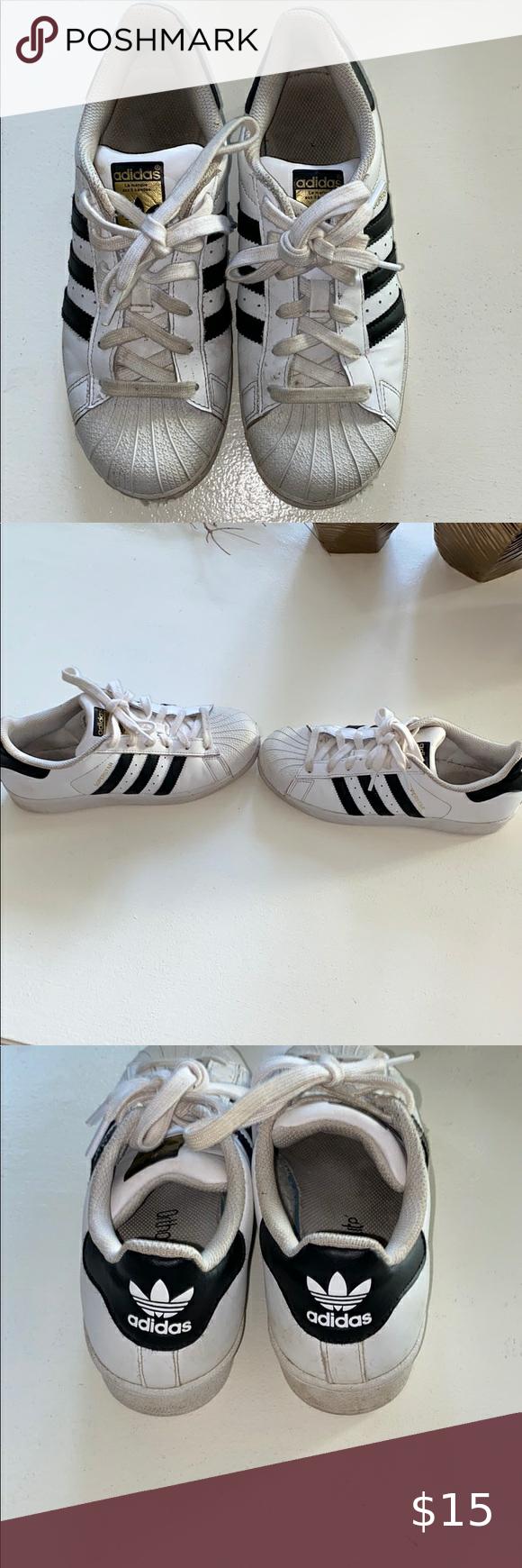 Adidas Superstar men's size 5.5   Adidas superstar mens, Shoe ...