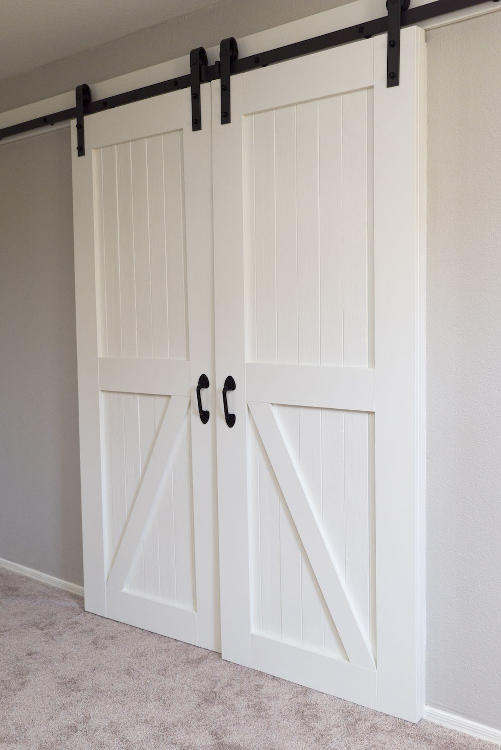 How To Build Barn Doors Diy Barn Doors Step By Step