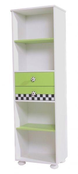 b cherregal football 53 x 182 cm kinderzimmer football pinterest leo kinderzimmer und. Black Bedroom Furniture Sets. Home Design Ideas