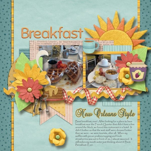 Breakfast New Orleans Style Kit: Breakfast of Champions by Bubbles Bits http://www.plaindigitalwrapper.com/shoppe/product.php?productid=12518&cat=&page=1 Fonts: GE Basalt Script and Papyrus