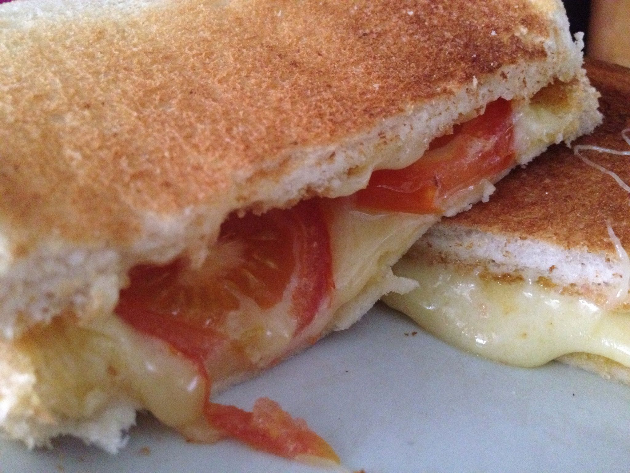 How To Cook A Cheese Amp Tomato Toasted Sandwich